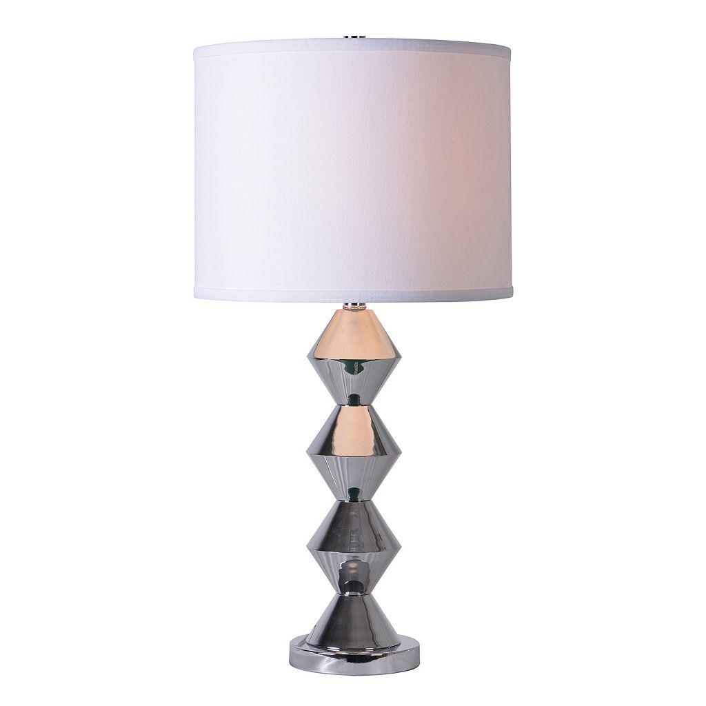 Kenroy Home Polished Finish Table Lamp