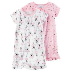 Toddler Girl Carter's 2-pk. Print Nightgowns