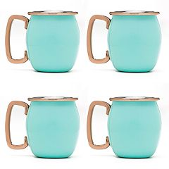 Fiesta 4-pc. Copper Moscow Mule Shots Mug Set