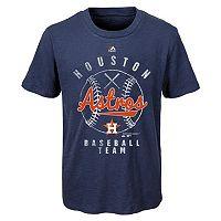 Boys 8-20 Majestic Houston Astros 1st Print Tee
