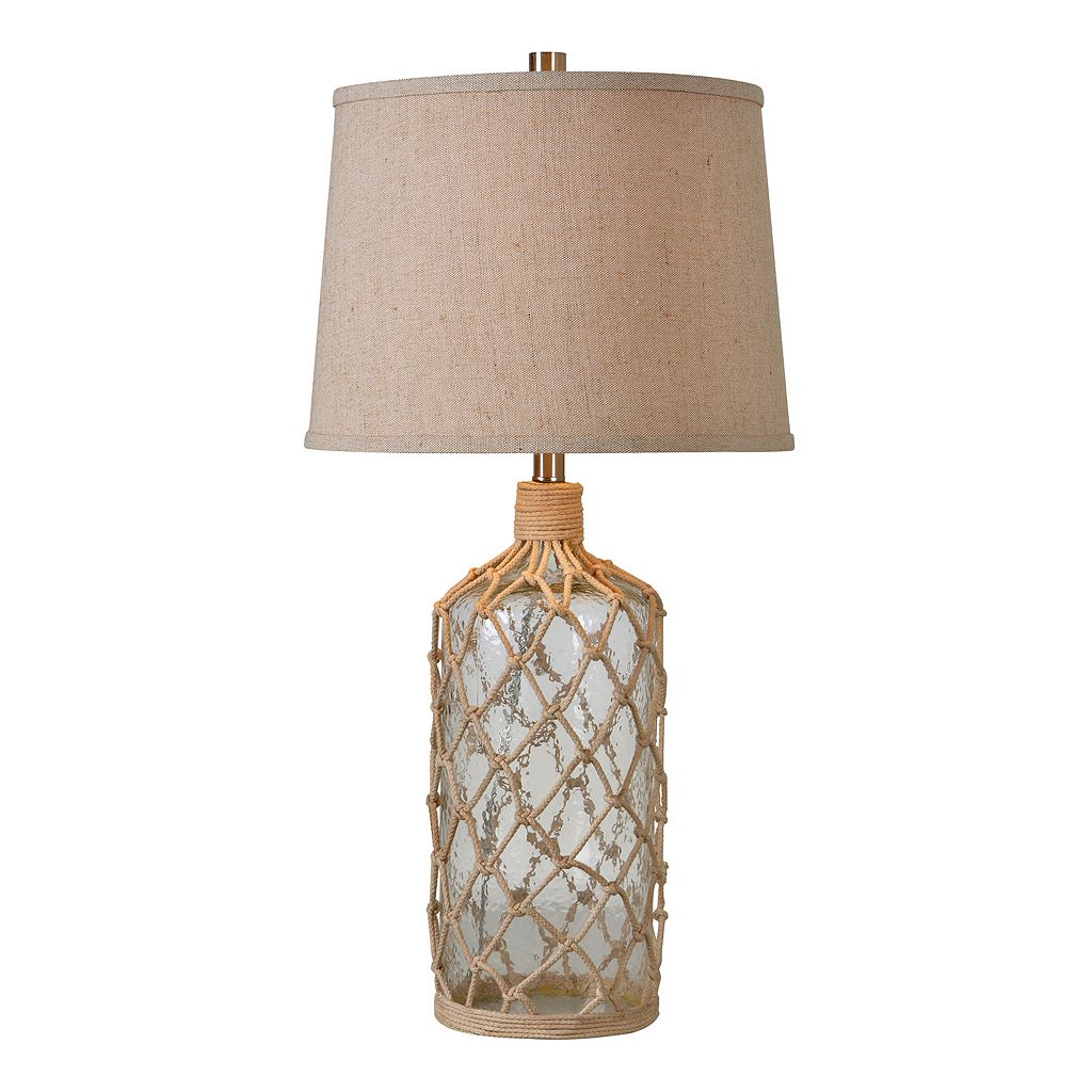 Kenroy Home Captain Rope Table Lamp