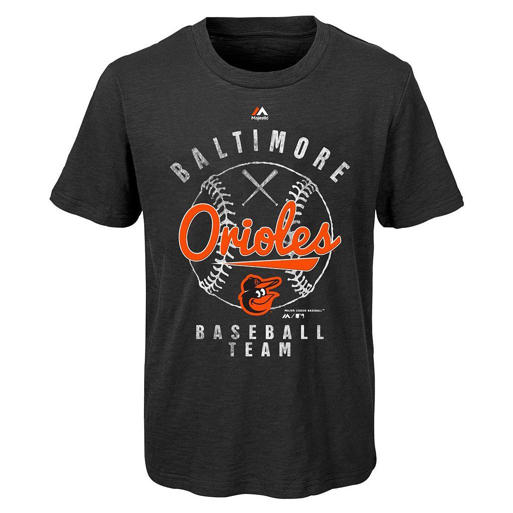 Boys 8-20 Majestic Baltimore Orioles 1st Print Tee