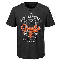 Boys 8-20 Majestic San Francisco Giants 1st Print Tee