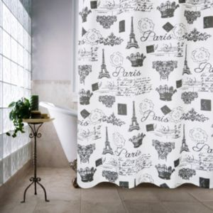 Park B. Smith Paris Travels Shower Curtain