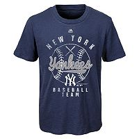 Boys 8-20 Majestic New York Yankees 1st Print Tee