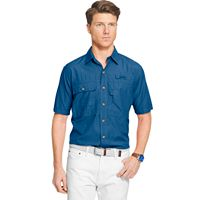 Men's IZOD Surfcaster Classic-Fit Solid Button-Down Shirt