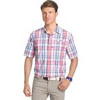 Men's IZOD Surfcaster Classic-Fit Plaid Button-Down Shirt