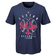 Boys 8-20 Majestic Boston Red Sox 1st Print Tee