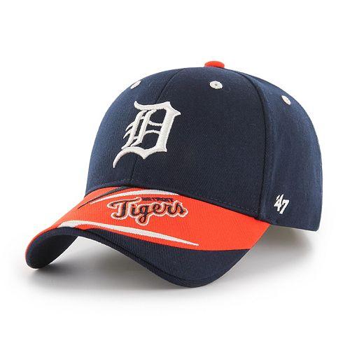 Youth '47 Brand Detroit Tigers Baloo MVP Adjustable Cap