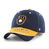 Youth '47 Brand Milwaukee Brewers Baloo MVP Adjustable Cap