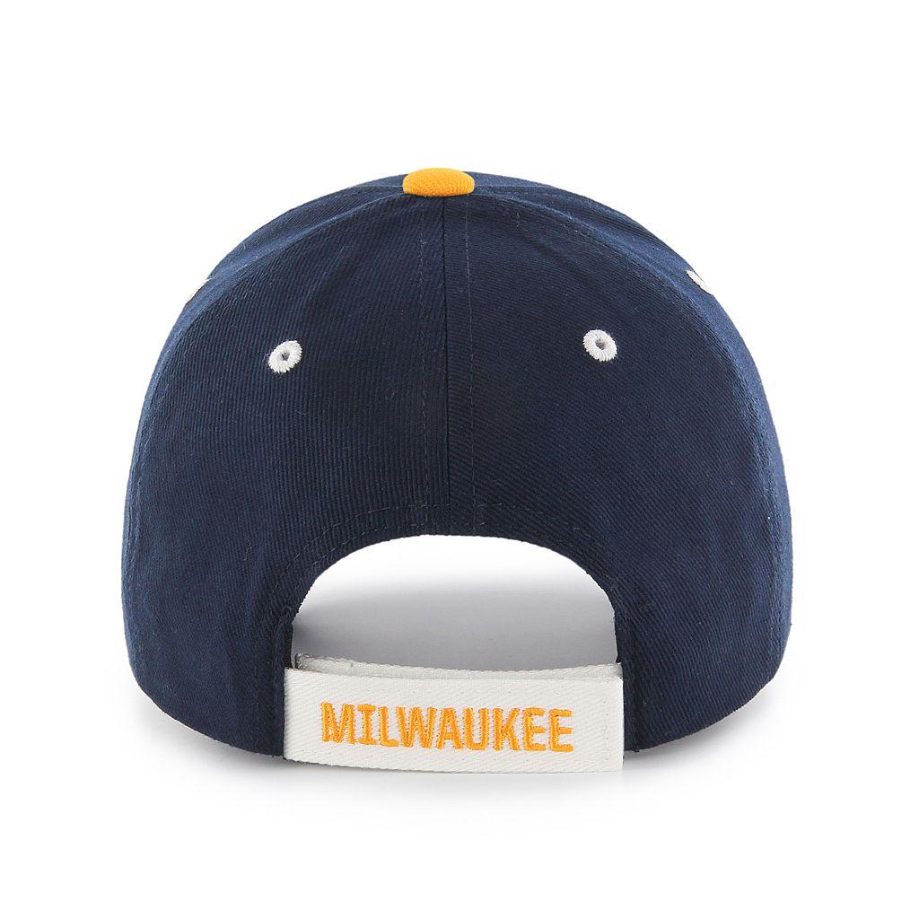 Youth '47 Brand Milwaukee Brewers Baloo MVP Adjustable Cap