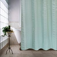 Park B. Smith Seersucker Bands Shower Curtain