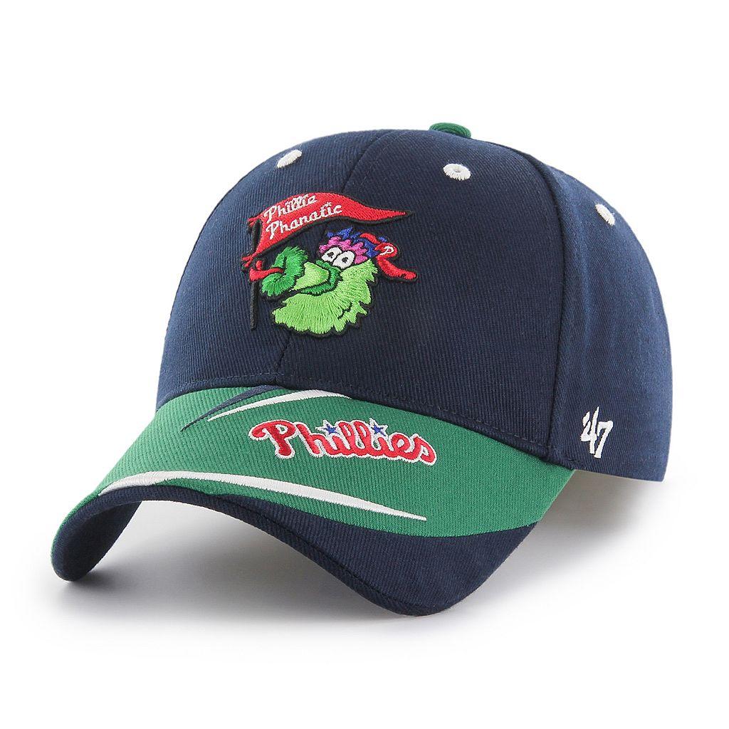 Youth '47 Brand Philadelphia Phillies Baloo MVP Adjustable Cap