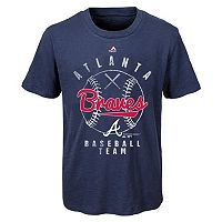 Boys 8-20 Majestic Atlanta Braves 1st Print Tee