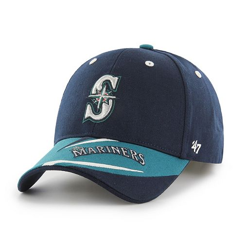 Youth '47 Brand Seattle Mariners Baloo MVP Adjustable Cap