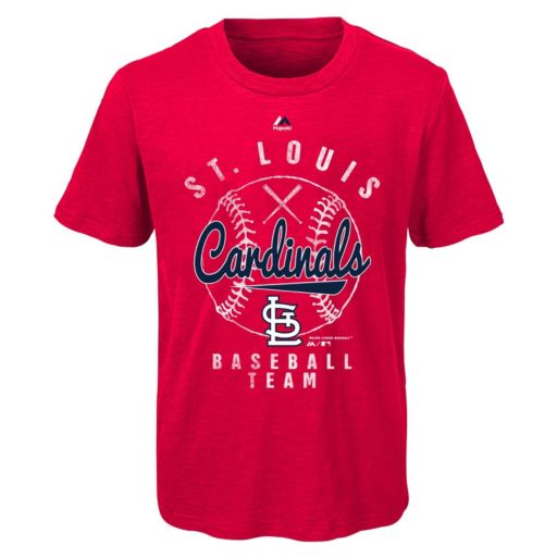 Boys 8-20 Majestic St. Louis Cardinals 1st Print Tee