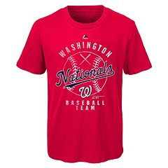 Boys 8-20 Majestic Washington Nationals 1st Print Tee