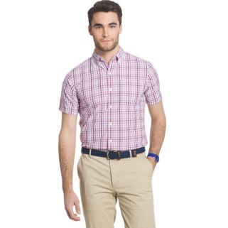 Men's IZOD Seaport Classic-Fit Plaid Poplin Button-Down Shirt