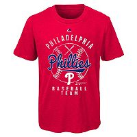 Boys 8-20 Majestic Philadelphia Phillies 1st Print Tee