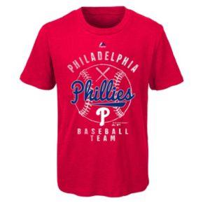 Boys 8-20 Majestic Philadelphia Phillies 1st Print Tee