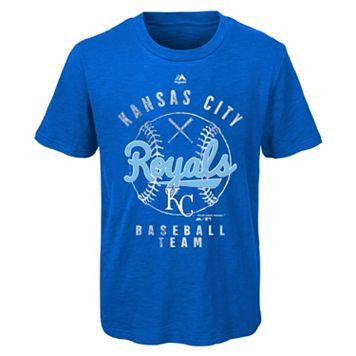 Boys 8-20 Majestic Kansas City Royals 1st Print Tee