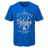 Boys 8-20 Majestic Los Angeles Dodgers 1st Print Tee