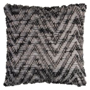 Rizzy Home Textured Chevron Throw Pillow