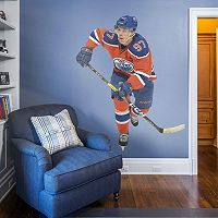 Edmonton Oilers Connor McDavid Wall Decal by Fathead