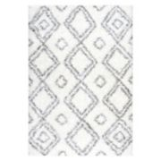 nuLOOM Iola Easy Shag Lattice Rug