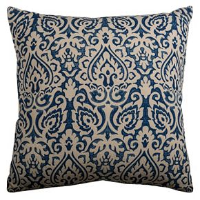 Rizzy Home Damask Throw Pillow