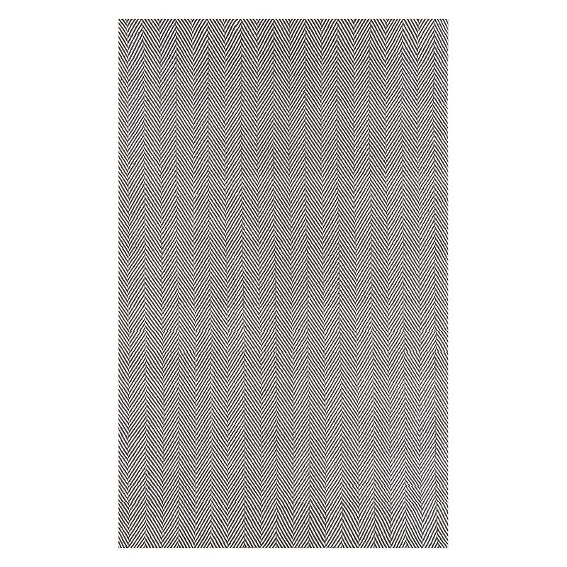 nuLOOM Cottage Kimberly Striped Rug, Grey, 9X12 Ft