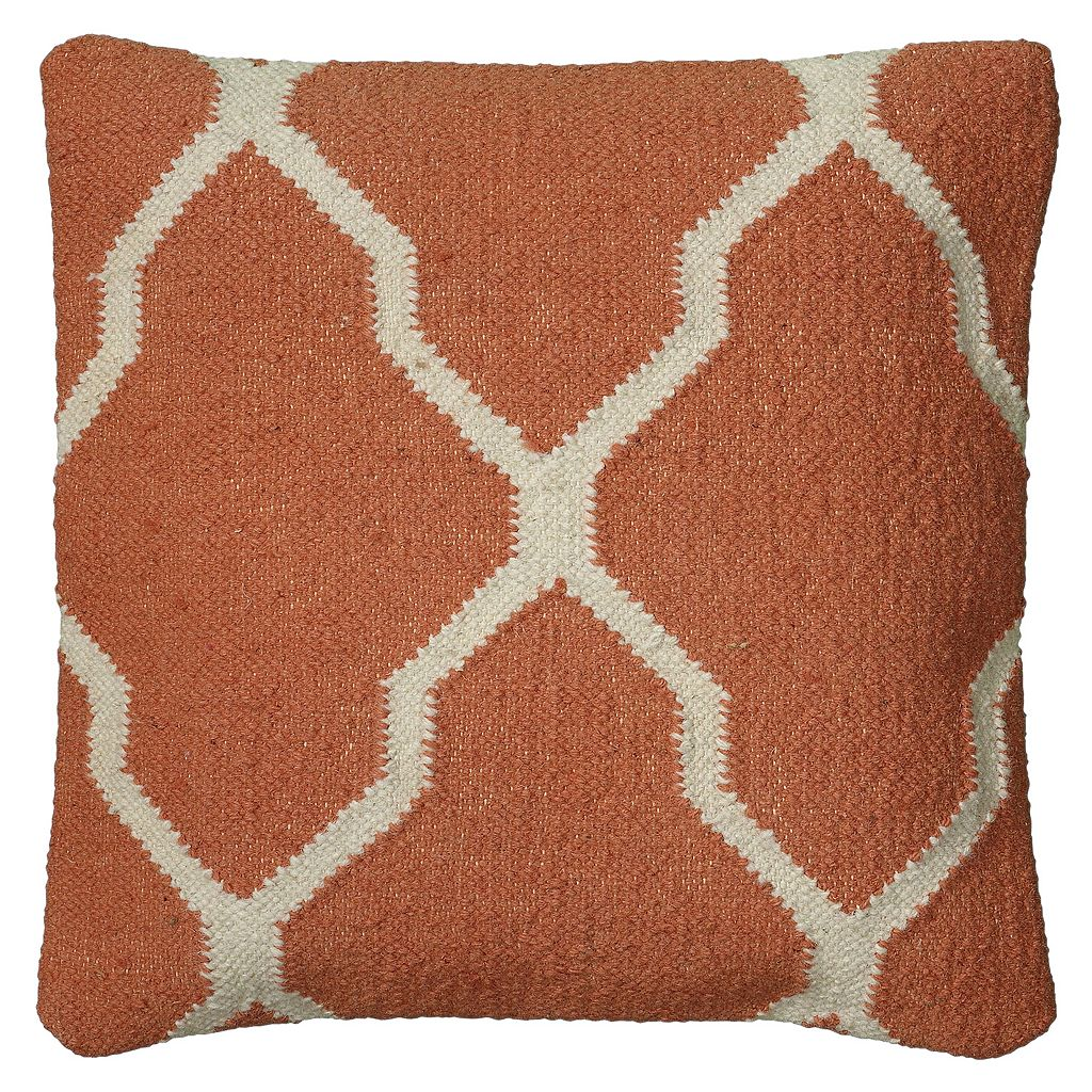 Rizzy Home Moroccan Tile Throw Pillow