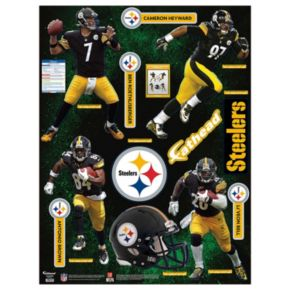 Pittsburgh Steelers Power Pack Wall Decals by Fathead
