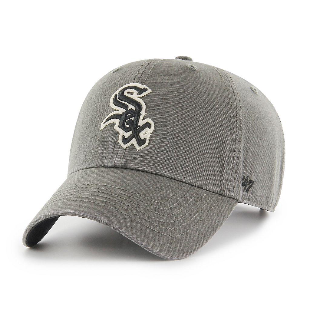 Adult '47 Brand Chicago White Sox Borderland Clean Up Adjustable Cap