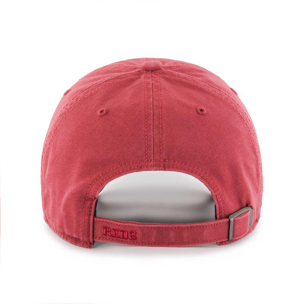 Adult '47 Brand Cincinnati Reds Borderland Clean Up Adjustable Cap
