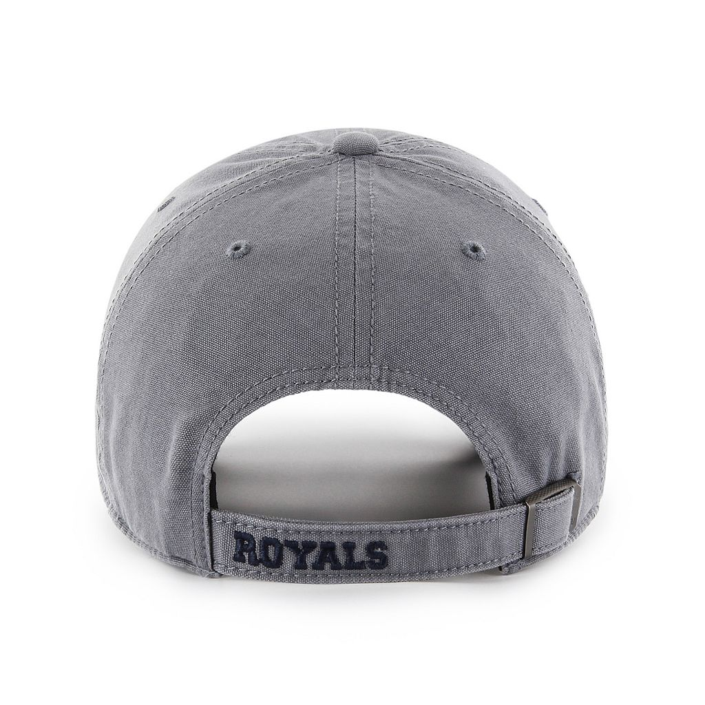 Adult '47 Brand Kansas City Royals Borderland Clean Up Adjustable Cap