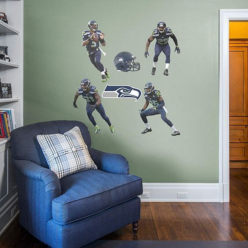 Seattle Seahawks Power Pack Wall Decals by Fathead
