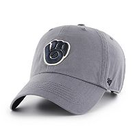 Adult '47 Brand Milwaukee Brewers Borderland Clean Up Adjustable Cap