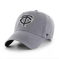 Adult '47 Brand Minnesota Twins Borderland Clean Up Adjustable Cap