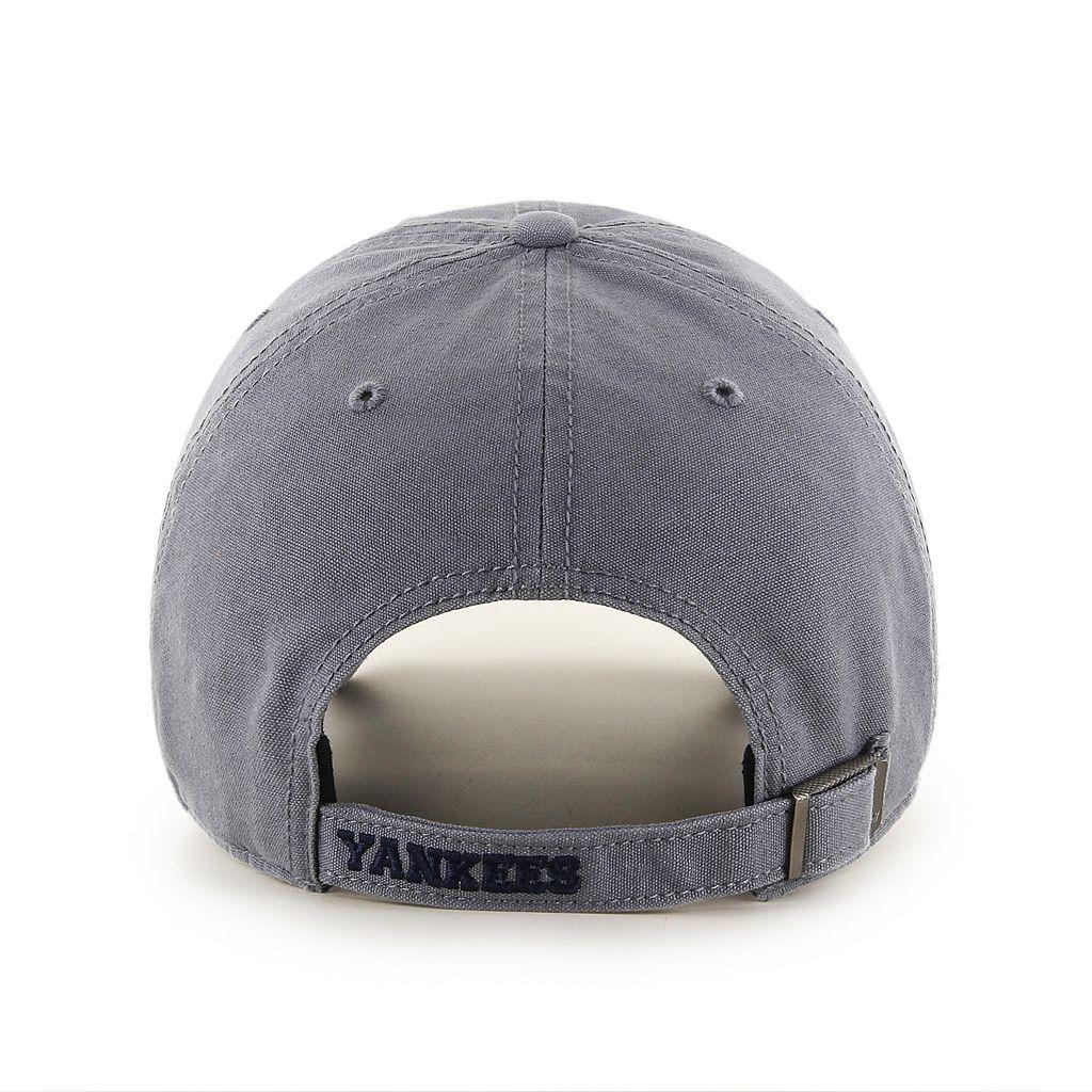 Adult '47 Brand New York Yankees Borderland Clean Up Adjustable Cap
