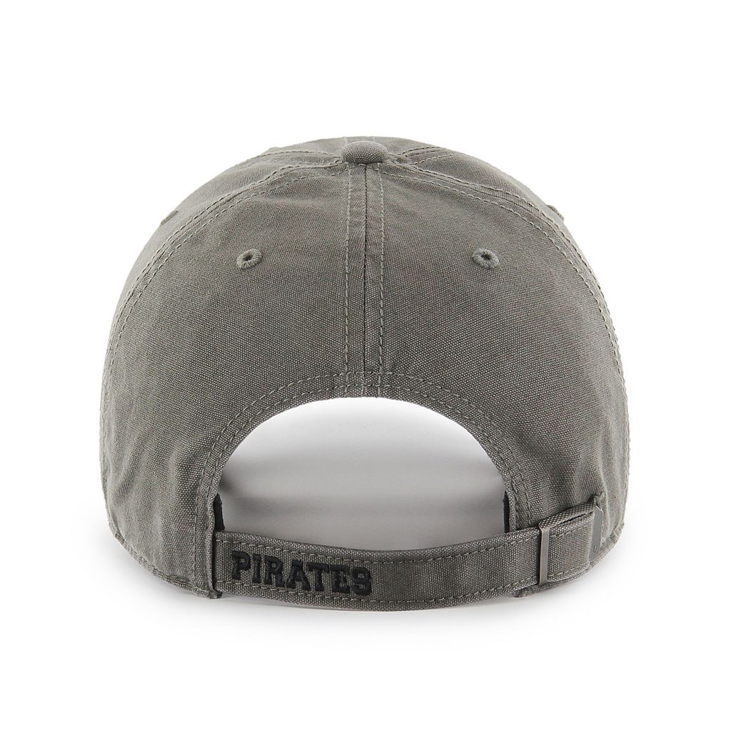 Adult '47 Brand Pittsburgh Pirates Borderland Clean Up Adjustable Cap