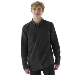 Men's Vans Linear Button-Down Shirt