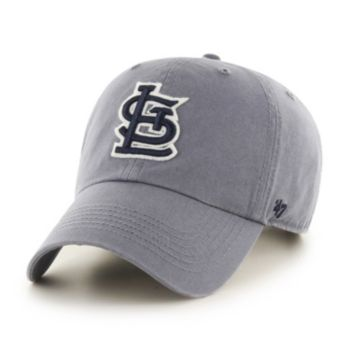 Adult '47 Brand St. Louis Cardinals Borderland Clean Up Adjustable Cap