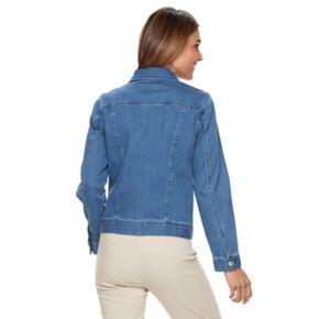 Women's Croft & Barrow® Jean Jacket