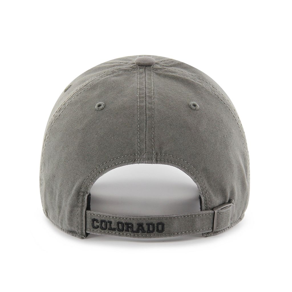 Adult '47 Brand Colorado Rockies Borderland Clean Up Adjustable Cap