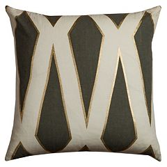 Rizzy Home Geometric I Throw Pillow