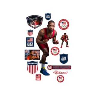 Team USA Jordan Burroughs Wall Decal by Fathead