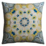 Rizzy Home Medallion Throw Pillow