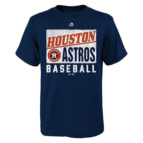 Boys 8 20 Majestic Houston Astros Out Of The Box Tee