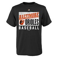 Boys 8-20 Majestic Baltimore Orioles Out of the Box Tee